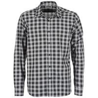Abbigliamento Uomo Camicie maniche lunghe Yurban FLENOTE Nero / Bianco
