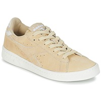 Scarpe Donna Sneakers basse Diadora GAME LOW SUEDE Beige