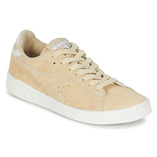 Diadora GAME LOW SUEDE Beige Scarpe Sneakers basse Donna 54,00