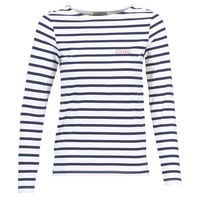 Abbigliamento Donna Top / Blusa Betty London FLIGEME Bianco / Blu