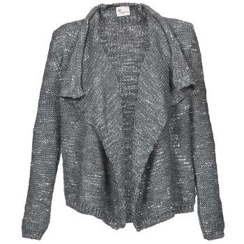 Abbigliamento Donna Gilet / Cardigan Stella Forest BGI002 Grigio