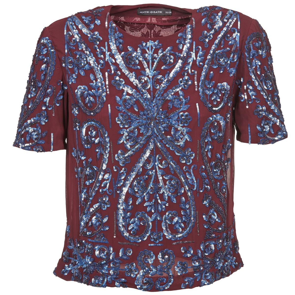 Camicette Antik Batik NIAOULI BORDEAUX