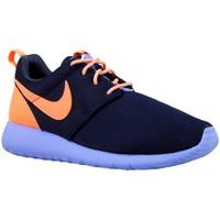 Scarpe Bambino Sneakers basse Nike Roshe One GS Arancione, Blu marino