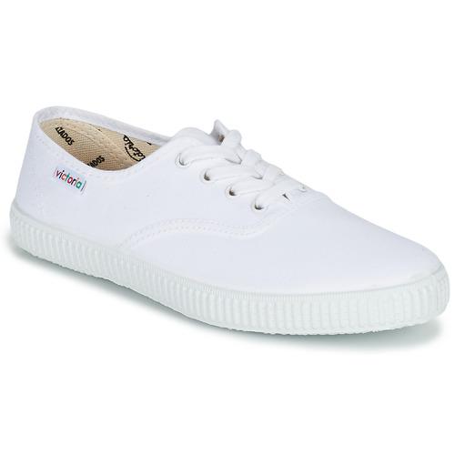 Victoria INGLESA LONA Bianco  Scarpe  Scarpe da Ginnastica basse  Scarpe 29 d4a98d