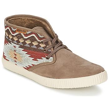 Scarpe Donna Sneakers alte Victoria SAFARI TEJIDOS ETNICOS TAUPE