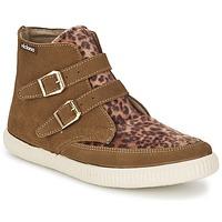 Scarpe Donna Sneakers alte Victoria 16706 Marrone