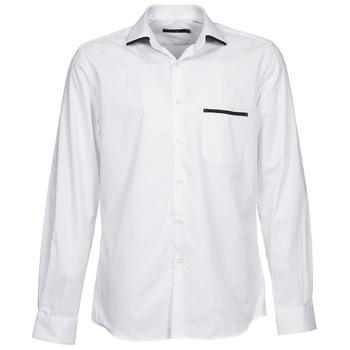 Abbigliamento Uomo Camicie maniche lunghe Pierre Cardin ANTOINE Bianco