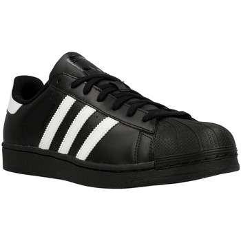 Scarpe Uomo Sneakers basse adidas Originals Superstar Foundation Bianco, Nero