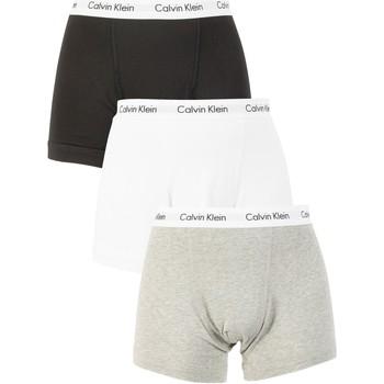 Abbigliamento Uomo Boxer Calvin Klein Jeans Uomo 3 Trunks Confezione, Multicolore multicolore
