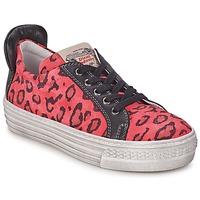 Scarpe Bambina Sneakers basse Diesel JAKID Rosa / Leopard
