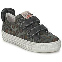 Scarpe Bambino Sneakers basse Diesel JERMAN Grigio / Leopard