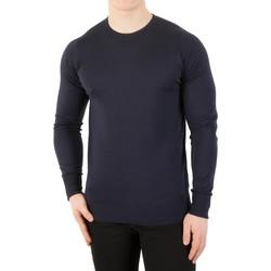 Abbigliamento Uomo Maglioni John Smedley Maglia girocollo Marcus blu