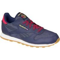 Scarpe Donna Sneakers Reebok Sport Classic Leather DG Bleu marine