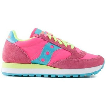 Scarpe Donna Sneakers basse Saucony Sneakers Jazz Original Wmns 1044 Pink Yellow Multicolor