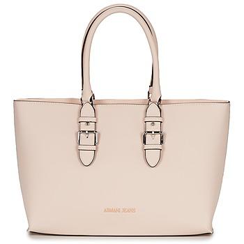 Borse Donna Tote bag / Borsa shopping Armani jeans TITATOU Rosa / Poudré