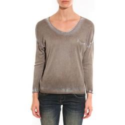 Abbigliamento Donna Maglioni Barcelona Moda Pull See You Again Beige Beige