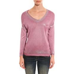 Abbigliamento Donna Maglioni Barcelona Moda Pull See You Again Rose Rosa