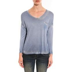 Abbigliamento Donna Maglioni Barcelona Moda Pull See You Again Bleu Blu