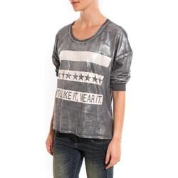 Abbigliamento Donna Maglioni Dress Code Pull Mooiki Gris Grigio