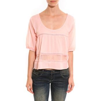 Abbigliamento Donna Top / Blusa Lara Ethnics Top Wendy Rose Rosa