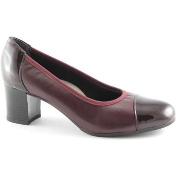 Scarpe Grunland  CIAC SC2315 bordeaux scarpe donna decolletè elasticizzato