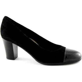 Scarpe Grunland  NIRA SC2070 nero scarpe donna decolletè camoscio
