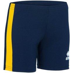 Abbigliamento Donna Shorts / Bermuda Errea Short femme  Amazon bleu marine/blanc