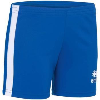 Abbigliamento Bambina Shorts / Bermuda Errea Short femme enfant  Amazon bleu marine/jaune