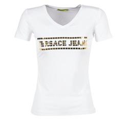 Abbigliamento Donna T-shirt maniche corte Versace Jeans B2HPA7GC Bianco
