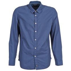Abbigliamento Uomo Camicie maniche lunghe Marc O'Polo CELSUS Blu / MARINE / Rosso