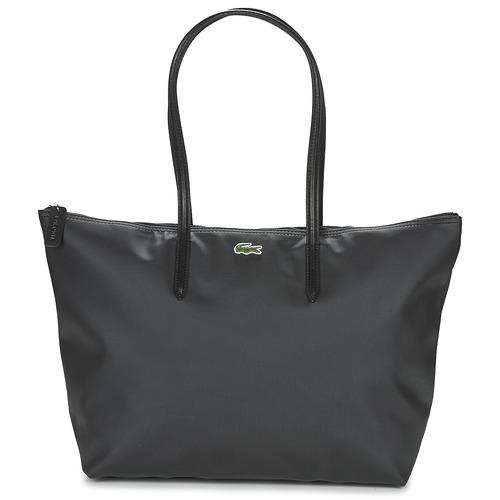 Borse Donna Tote bag / Borsa shopping Lacoste L.12.12 CONCEPT L Nero