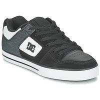 Scarpe Uomo Scarpe da Skate DC Shoes PURE SE M SHOE BKW Nero / Bianco