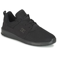 Scarpe Uomo Sneakers basse DC Shoes HEATHROW M SHOE 3BK Nero