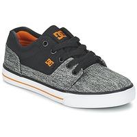 Scarpe Bambino Sneakers basse DC Shoes TONIK TX SE B SHOE BGY Nero / Grigio / Arancio