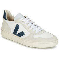 Scarpe Sneakers basse Veja V-10 Bianco / Blu