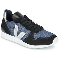 Scarpe Donna Sneakers basse Veja HOLIDAY LOW TOP Nero / Blu / Argento