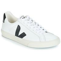 Scarpe Sneakers basse Veja ESPLAR LOW LOGO Bianco / Nero