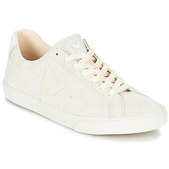 Scarpe Donna Sneakers basse Veja ESPLAR LOW LOGO Bianco