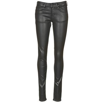 Abbigliamento Donna Jeans slim Cimarron ROSIE JEATHER Nero