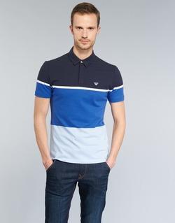 Abbigliamento Uomo Polo maniche corte Armani jeans MARAFOTA Blu