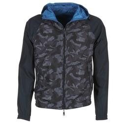 Abbigliamento Uomo Giubbotti Armani jeans MIRACOLA Grigio