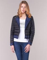 Abbigliamento Donna Piumini Armani jeans BEAUJADO Nero / Blu