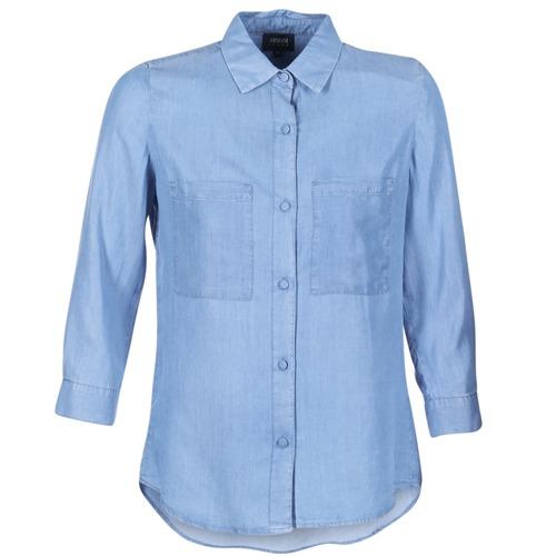 Armani jeans OUSKILA Blau - Consegna gratuita   Spartoo    - Abbigliamento Camicie damen 78,50
