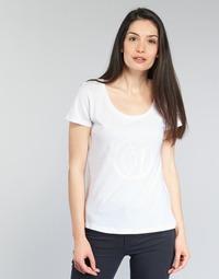 Abbigliamento Donna T-shirt maniche corte Armani jeans LASSERO Bianco