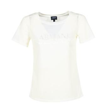 Abbigliamento Donna T-shirt maniche corte Armani jeans KAJOLA Bianco