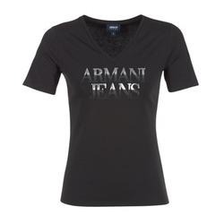 Abbigliamento Donna T-shirt maniche corte Armani jeans JAGONA Nero