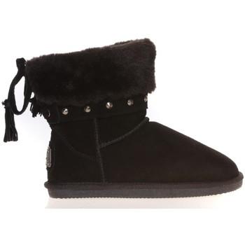 Scarpe Donna Stivaletti Ilario Ferucci Boots Rebus Noir Nero