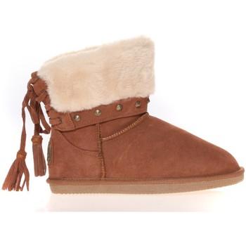 Scarpe Donna Stivaletti Ilario Ferucci Boots Rebus Camel Marrone