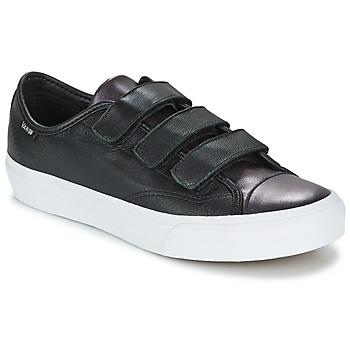 Scarpe Donna Sneakers basse Vans PRISON ISSUE Nero / METALLO / Bianco
