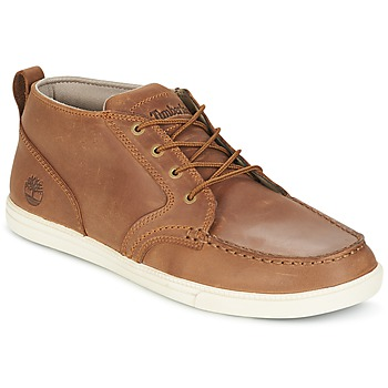 Scarpe Uomo Sneakers basse Timberland FULK LP CHUKKA MT LEATHER Marrone